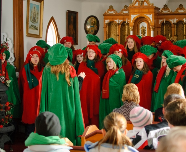 Owatonna High School Carolers