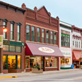 Street level view of Historic Downtown Owatonna.
