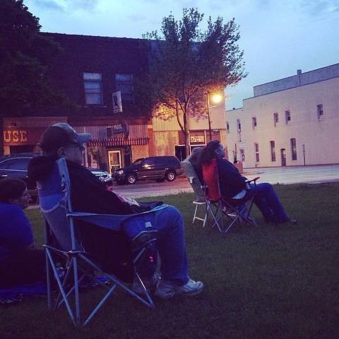 Movie in Park