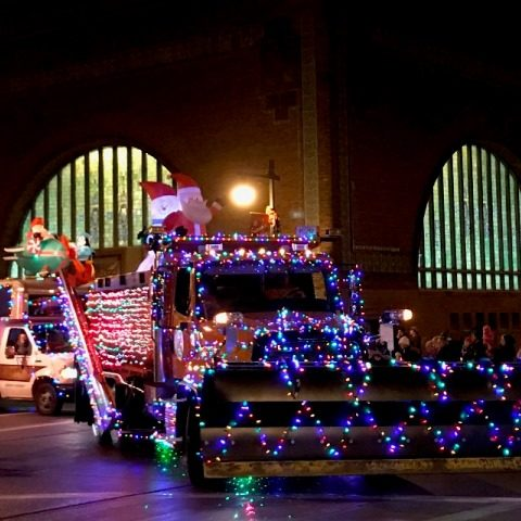 Lighted Holiday Parade