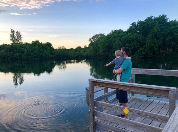 They're dreaming about the monster they want to catch. 🐟🌿💧#chaselake #minnesota #owatonna